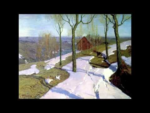 VLOG: Стих Зима не даром злится. Ф. Тютчев