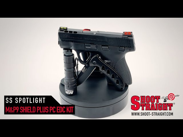 S&W M&P 9 Shield Plus Performance Center - EDC Kit - Shoot Straight Spotlight
