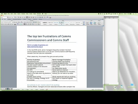 42 - DTP with QuarkXPress: Importing from Word