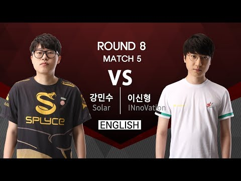[SSL Premier] 170821 R8 Match 5 Solar vs INnoVation