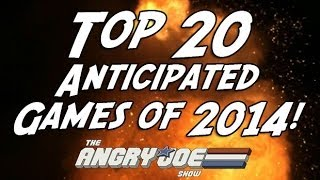 Top 20 Most Anticipated Games of 2014!