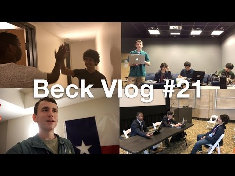 Beck Vlog #21: NDF Debate Camp Boston (ft. Neo Curry)
