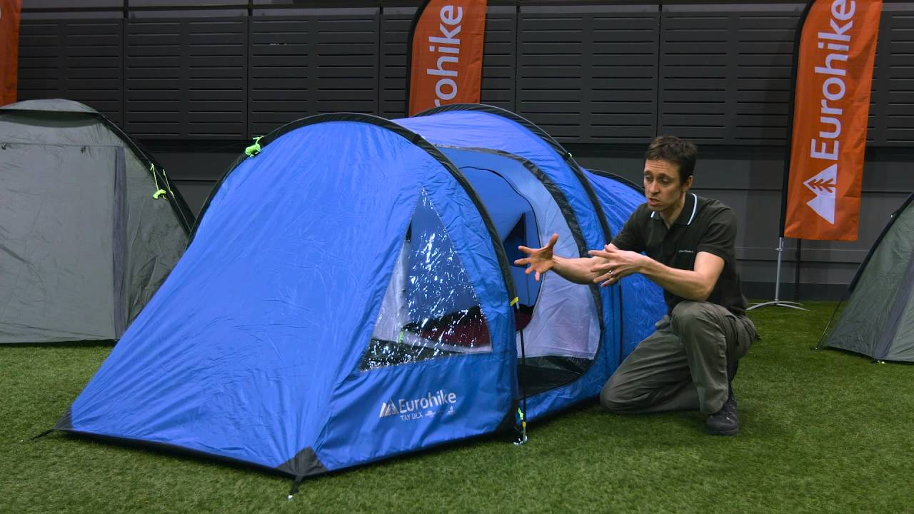 Eurohike Tay Deluxe 2 Man Tent  sc 1 st  YouTube & Eurohike Tay Deluxe 2 Man Tent - YouTube