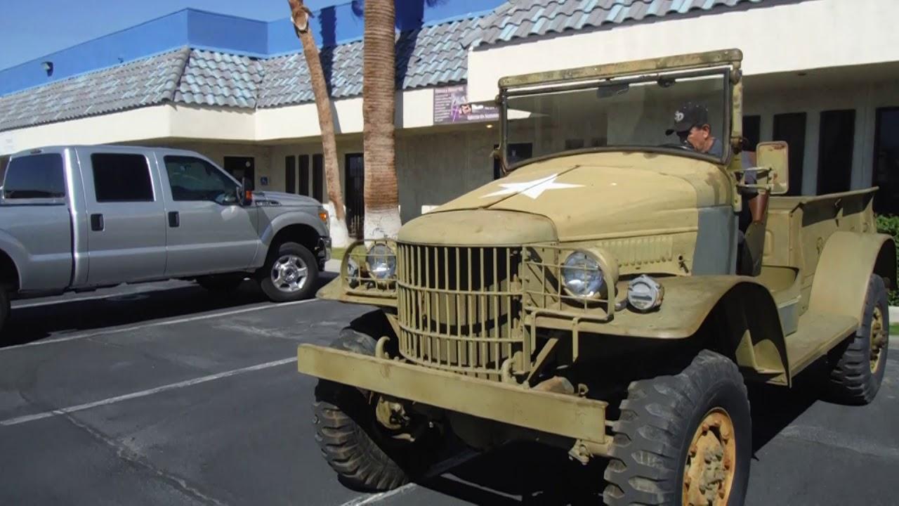 1941 Dodge WC-21 NEW PAINT, runs, title, FOR SALE