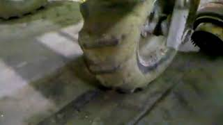 Heavy Equipment Repair on Caterpillar SS-250 Mixer