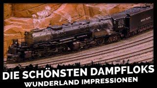 Die schönsten Dampflokomotiven des Miniatur Wunderlandes