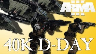 Airborne Guardsman Land Hotter than D-Day | ArmA 3 - A Fustercluck in Only War
