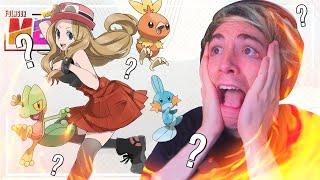 Pokémon X MEGALOCKE Ep.32 - ME SALE UN STARTER Y... AAAAAAAAAAAAAA