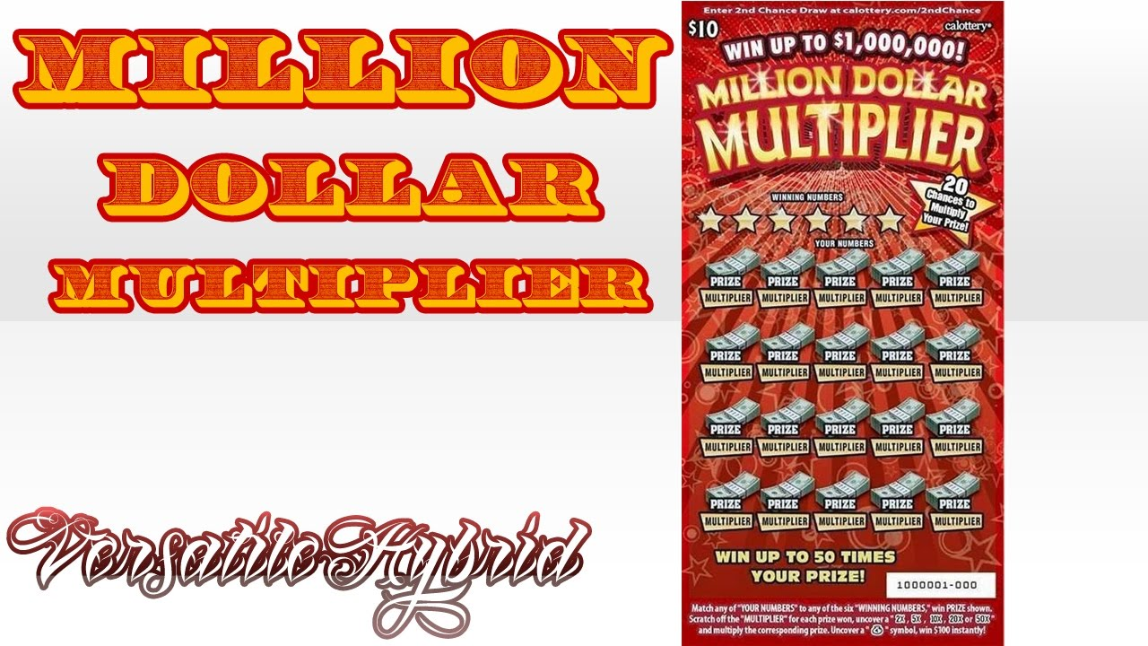 10 Million Dollar Multiplier 1 Win Up To 1000000 Calottery