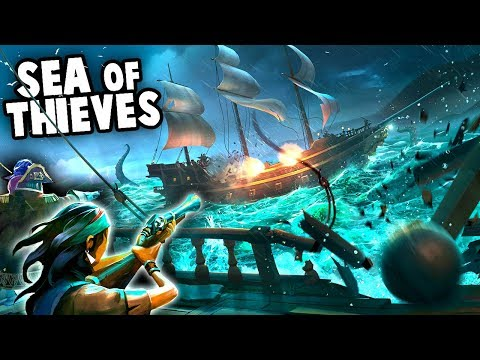 the BEST Game of 2018!?  EPIC Treasure Hunt on the High Seas! (Sea Of Thieves Gameplay)