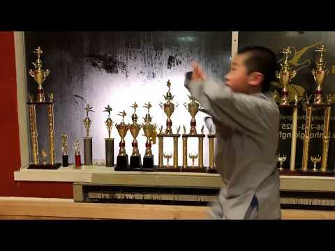 Kung Fu Kid 💯 | Shaolin Lian Huan Quan