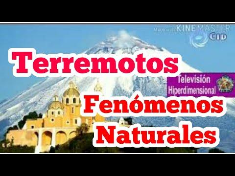 Terremotos, erupciones, fenómenos naturales Y LOS CAMBIOS dimensionales por el contactado alex glez