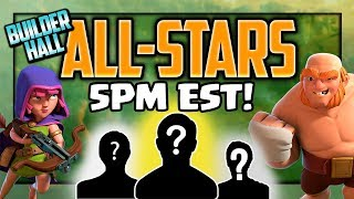 The COMPLETE Clash of Clans Builder Hall All-Stars Tournament!