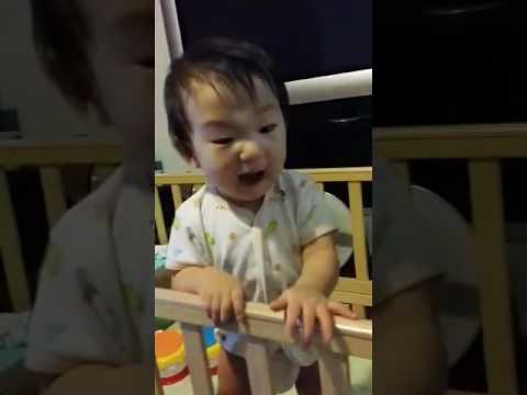 Very angry baby