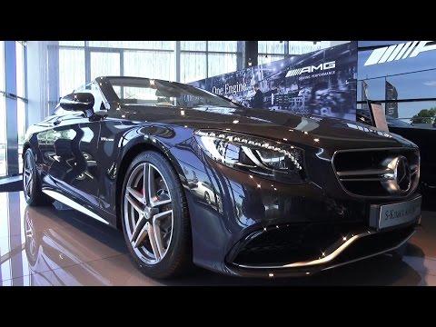 2016 Mercedes Benz S63 AMG Кабриолет. Обзор интерьер, экстерьер, двигатель.