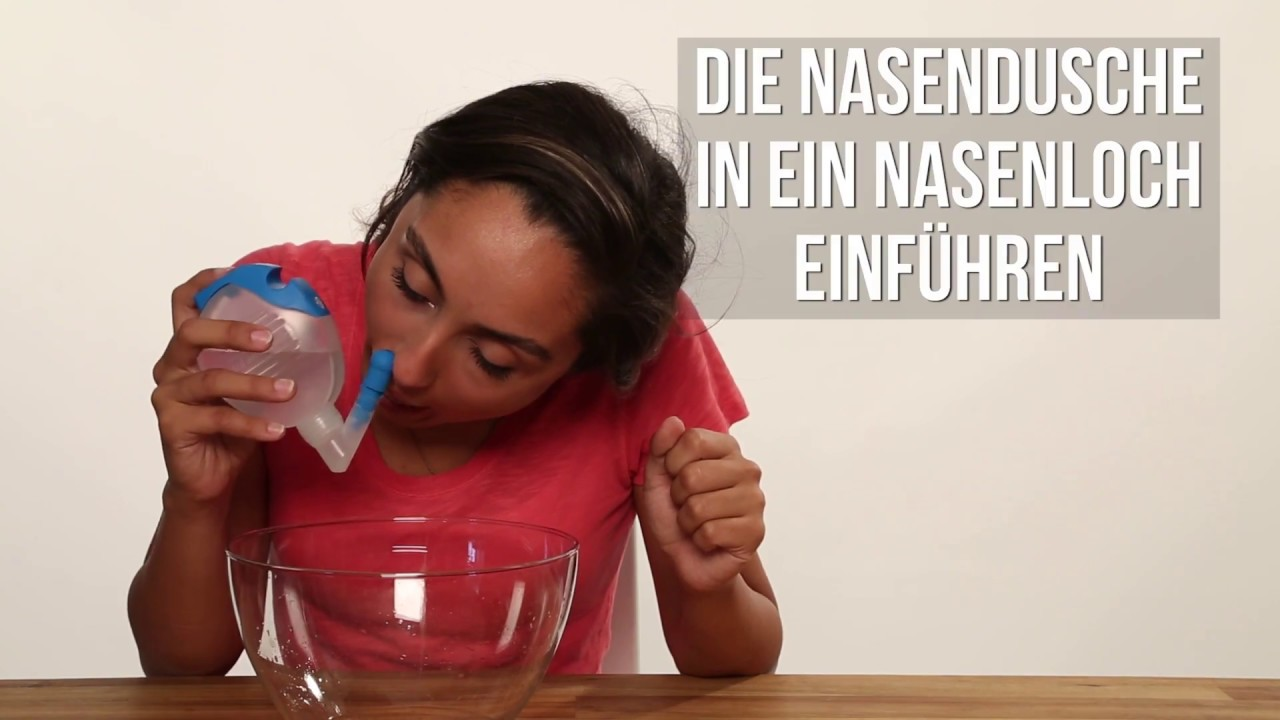 inhalieren mit salzwasser