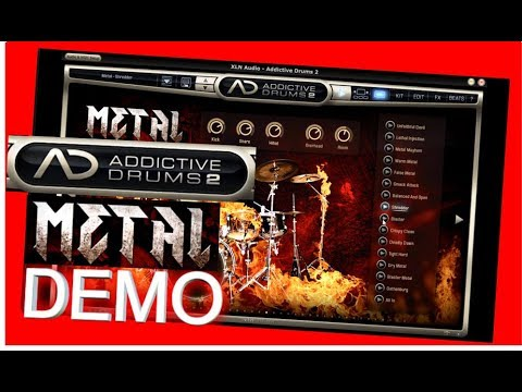 METAL Adpak DEMO - Addictive Drums 2 - XLN Audio