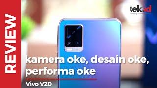 Review Vivo V20: kamera oke, desain oke, performa juga oke!