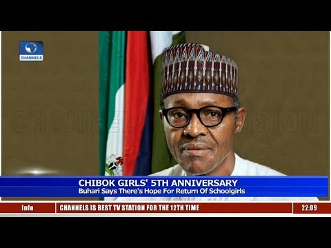 Chibok Girls: There's Hope For Return Of Schoolgirls - Buhari 13/04/19 Pt.1|News@10|