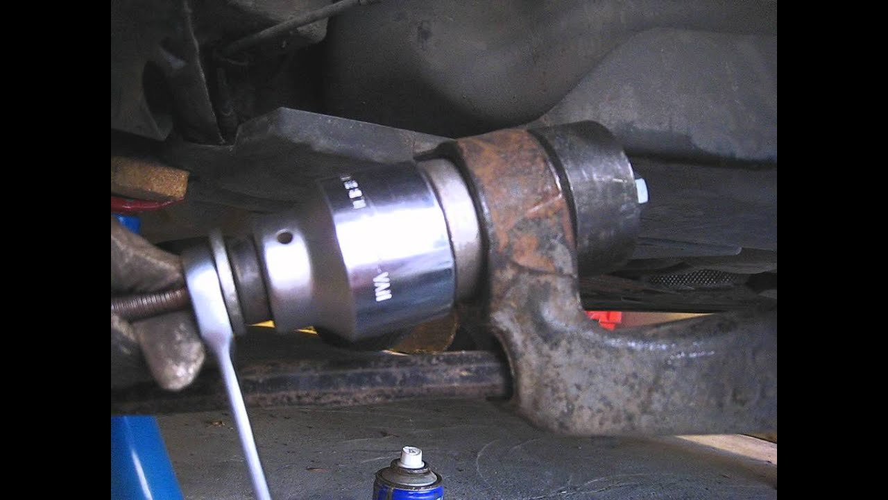 Bmw M3 E46 Rear Trailer Arm Bushing Youtube