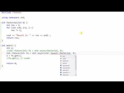 C++ Threading #7: Future, Promise and async()