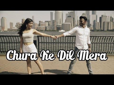 Chura Ke Dil Mera | Main Khiladi Tu Anari | Bollywood Dance by Rohit Gijare & Hanisha G