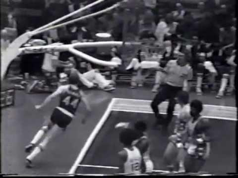Dan Issel (22pts) vs. Nets (1974 ABA Playoffs)