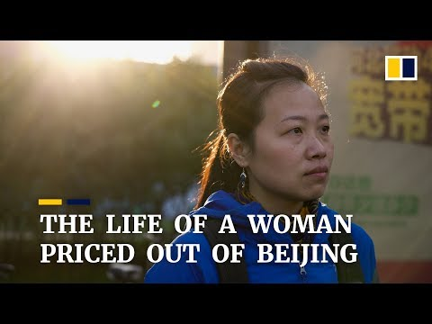The life of a woman priced out of Beijing, China