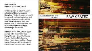 Raw Cratez Hip Hop Kits Vol 1
