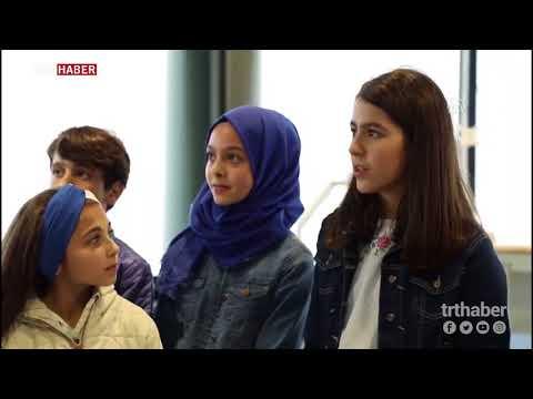 İstanbul Yeni Havalimanı'nın ilk ziyaretçileri çocuklar oldu...