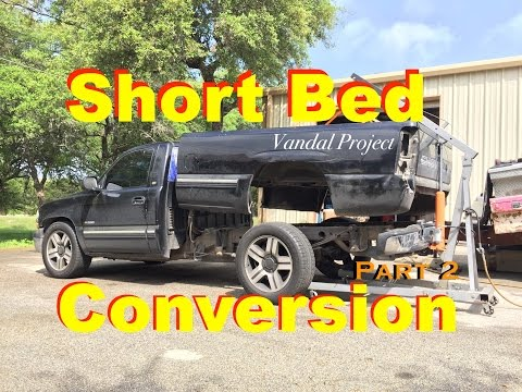 "Chevy Long to Short Bed Conversion Part 2- ""Vandal"" Project '01 NBS"
