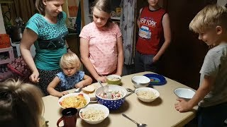 Вкусный ужин, завтрак и суп не хотим #многодетнаясемья