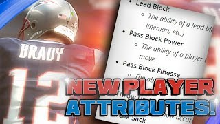 Madden 19 NEW Attributes and TOP 5 QB Ratings!