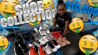3 YEAR OLD'S $10,000 SHOE COLL…
