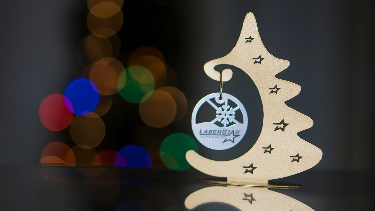Laser Cutting Engraving Christmas Ornaments