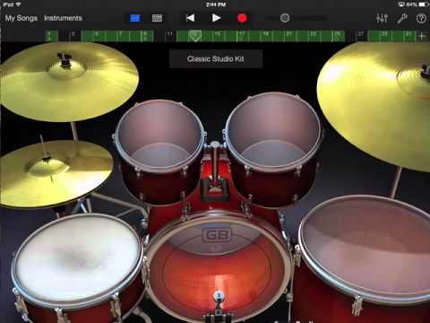 GarageBand iPad 6 - mixing, form, export