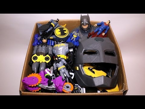 Toy Box: Cars, Kinder Joy, Masks, Batman Action Figures and More
