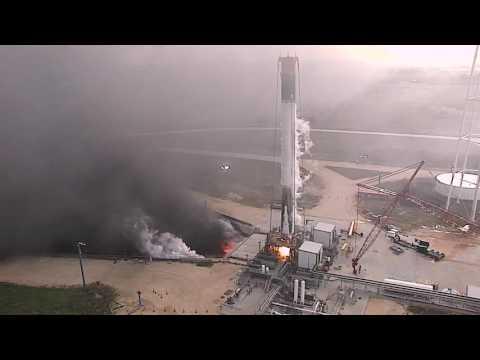 SpaceX comienza las pruebas en tierra de uno de sus cohetes «reciclados»