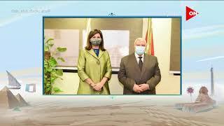 وزيرة الهجرة تبحث مع رئيس الوطنية للانتخابات آلية تصويت المصريين بالخارج خلال انتخابات الشيوخ