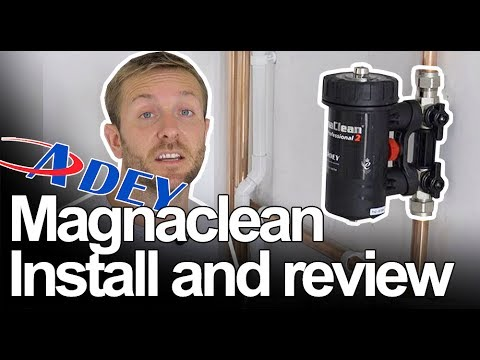 MAGNACLEAN MAGNETIC FILTER INSTALL AND REVIEW - Plumbing Tips