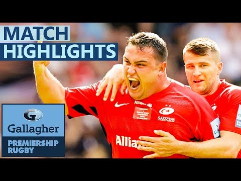 Exeter 34-37 Saracens | Sarries Crowned Champs In Thriller! Gallagher Premiership FINAL - Highlights