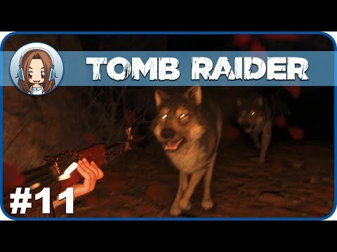 Let's Play | Rise Of The Tomb Raider | Part 11 ✮Into The Wolves Den!✮ | (Commentary)