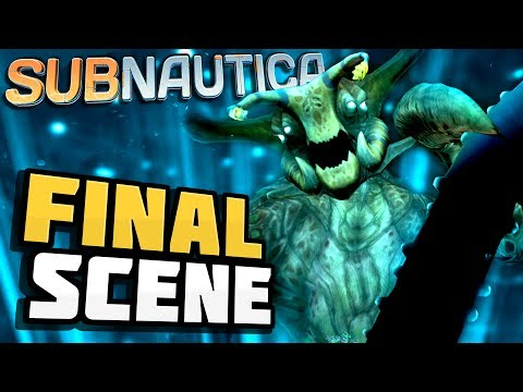 Subnautica - THE FINAL SCENE - Subnautica's Last Update: Prison End Game! - Subnautica Gameplay