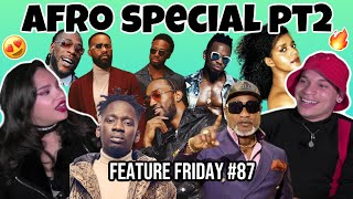 AFRO BEATS for the FIRST TIME pt2|Eugy,Fally Ipupa,Burna Boy,Diamond Platnumz,Koffi Olomide,Mr Eazi