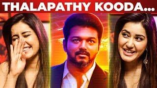 Thalapathy Vijay kooda work pananum | Rashi Khanna Opens up | Imaikkaa Nodigal | NPA 14
