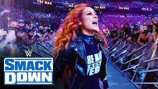 Relive Becky Lynch's return to recapture the SmackDown Women's Title: SmackDown, Aug. 27, 2021
