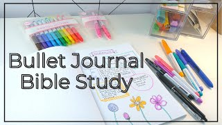 Bible Study in a BuĮlet Journal