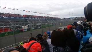 F1 Moteur V8 2013 vs V6 turbo 2014 comparaison du son