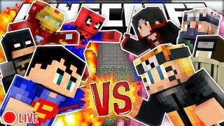 Video Minecraft Modded Cops N Robbers | NARUTO VS SUPERHEROES! download MP3, 3GP, MP4, WEBM, AVI, FLV November 2017