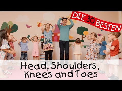 Head, Shoulders, Knees and Toes - Singen, Tanzen und Bewegen || Kinderlieder